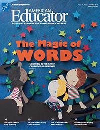 American Educator Summer 2014 cover